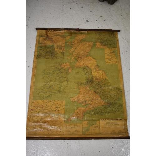 15 - Map of England M.A.T Transport LTD...