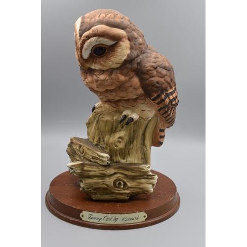 40 - Ceramic Owl Statue 9