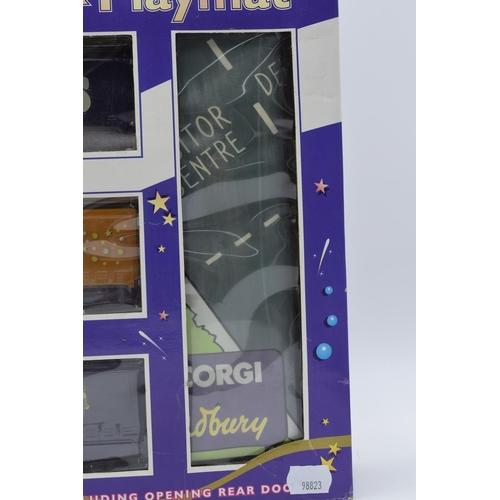 47 - Corgi Cadbury Diecast Truck Set with Playmat in Original Box...