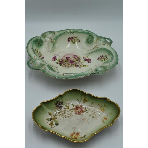 199 - Two Vintage Hand painted Bowls...