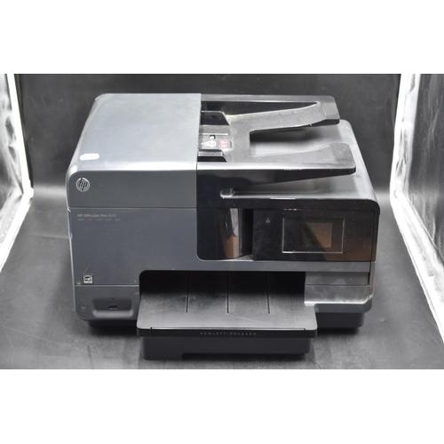 201 - HP Office Jet Pro 8610 Multifuncional Printer Untested...
