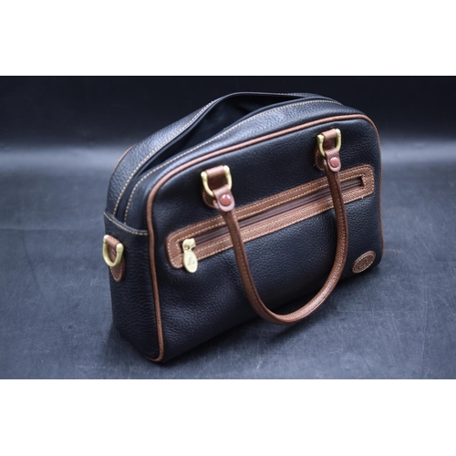 202 - Liz Claiborne Leather Bag 12