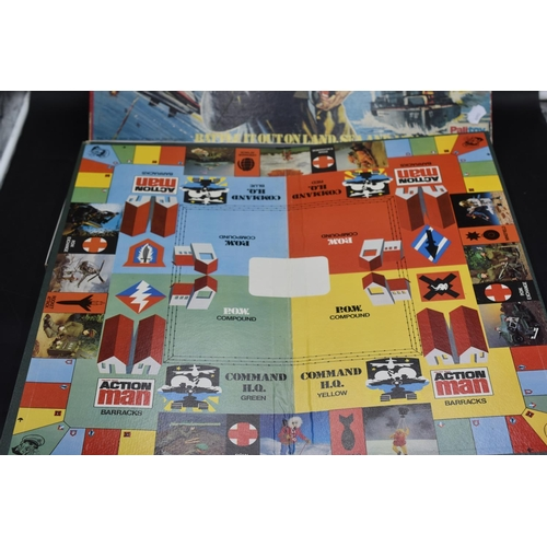 203 - Palitoy Parker Action Man Game (Looks Complete)...