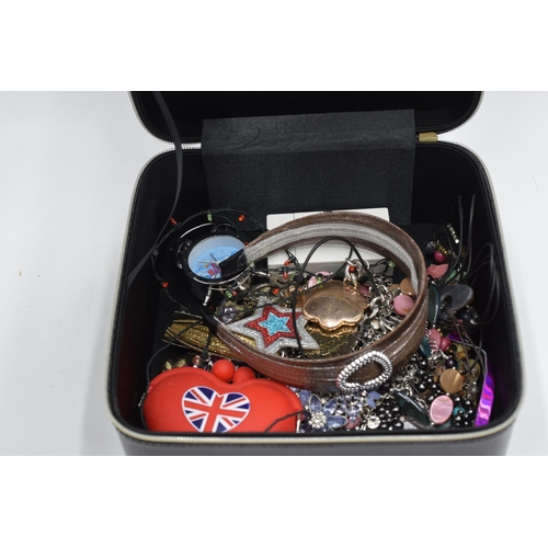 205 - Yves Saint Laurent Box containing costume jewellery and others...