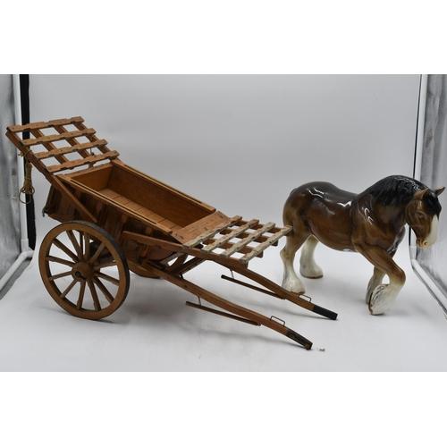 215 - Sylvac Model of Shire Horse (10