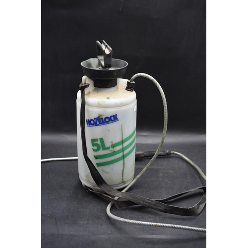192 - Hozelock 5Litre Pressure Sprayer...