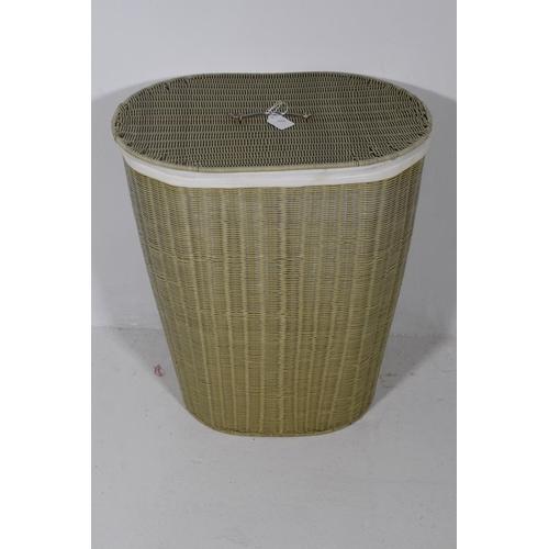 242 - Large Wicker Washing Basket...