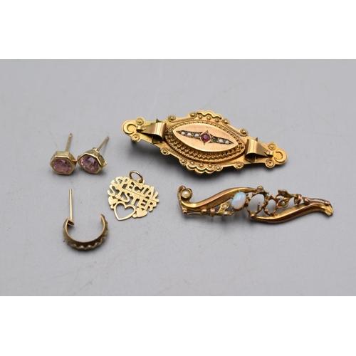 1 - Selection of Scrap Gold (5.7 grams)...