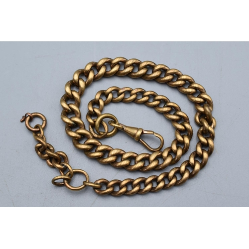 5 - Antique Watch Chain marked 15ct with Makers Mark (Total weight 35.9 grams)...
