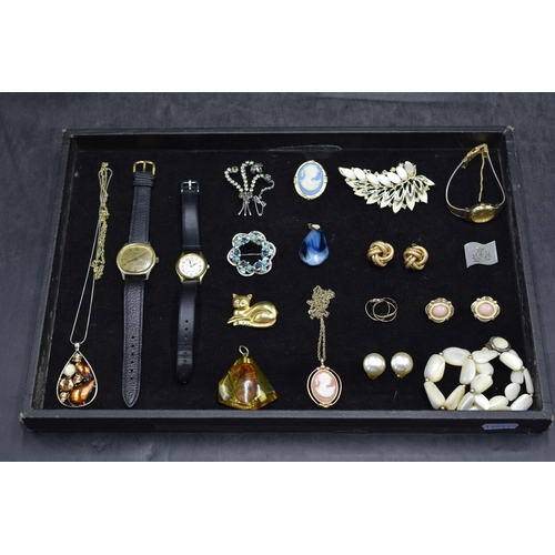 42 - Mixed Selection including Watches, Necklace's, Brooches and Lots More...
