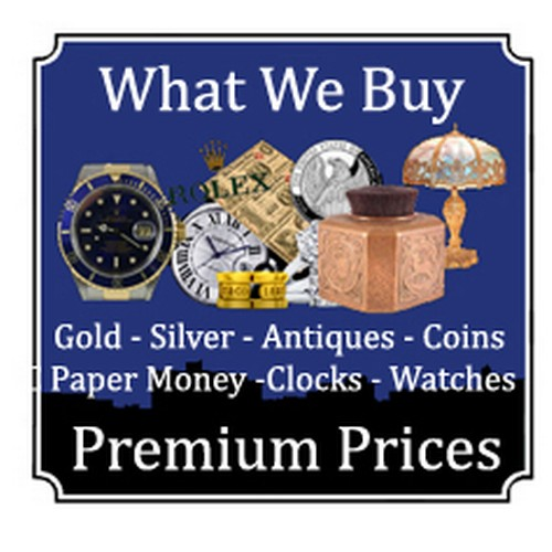 0 - Sale of Jewellery (Gold & Silver) Watches and Coins Followed by Antiques, Collectables and General H...