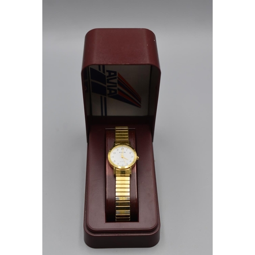 46 - Avia Ladies Watch complete with Presentation Box...