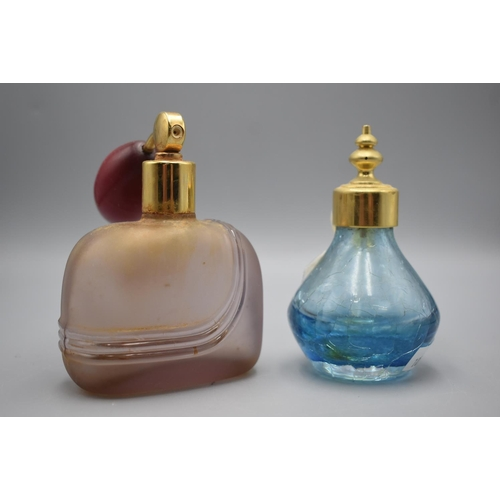 51 - Two Perfume Bottles with Atomisers...