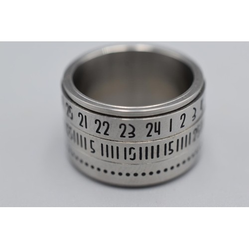 13 - Rotating Date Ring...