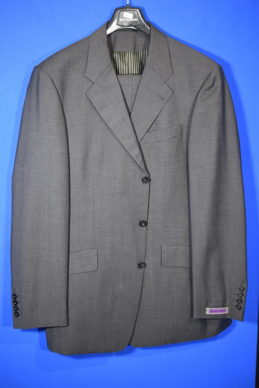 Grey Wool Austin Reed Made In Germany Jacket Is Approx 44 And Trousers Approx 36 Waist And 36 I