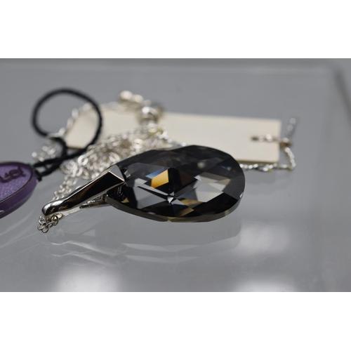 39 - Jon Richard Swarovski Elements Necklace in Presentation Box...