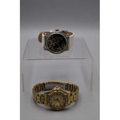 91 - Ladies Sekonda and Playboy Watch (Both Working When Tested)...