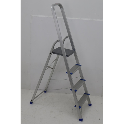 374 - A Set of Aluminium Stepladders...