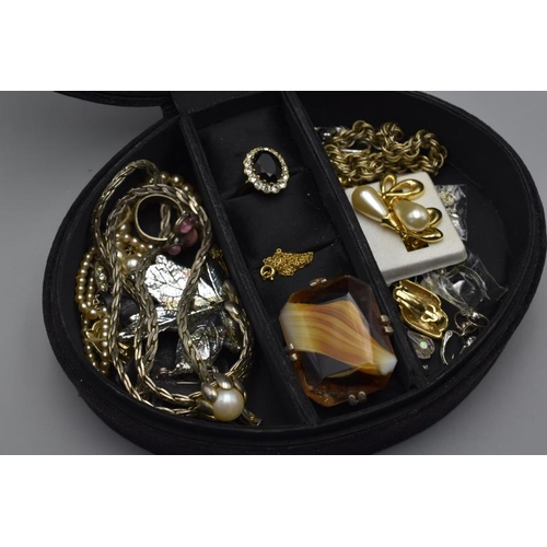 30 - Jewellery Box Containing Mixed Selection of Jewellery including Ring's, Necklaces, Earrings and More