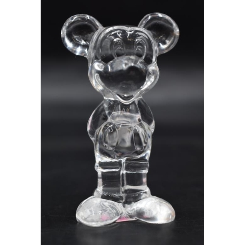42 - Official Disney Glass Mickey Mouse Figure (3