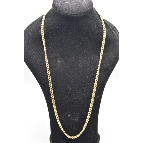 3 - Hallmarked 9ct Gold Necklace approx. 22