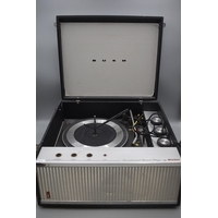 Bush Transitional Record Player with a Gerrard Deck (Powers On)