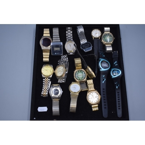 28 - Mixed Tray of Watches