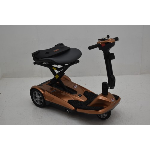 309 - Drive Remote Controlled Auto Folding / Unfolding Mobility Scooter With Key, Remote Control, Charger ...