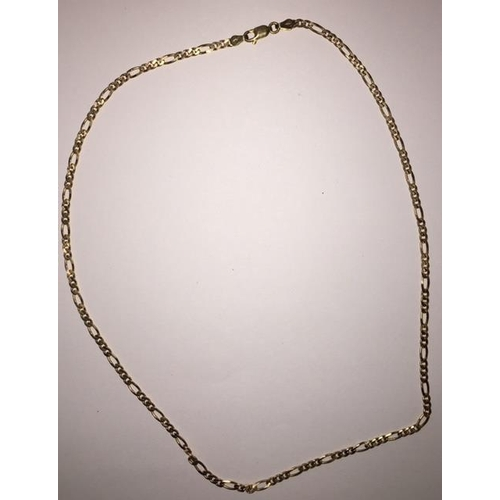 348 - An attractive 9ct Gold chain. Weight approximately 6.8gm....