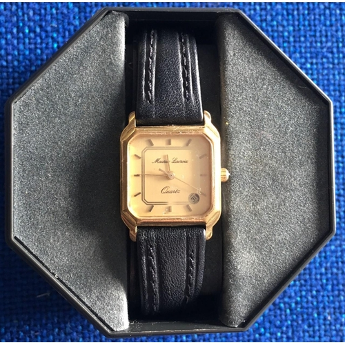 298 - A fantastic, boxed, vintage Ladies watch by Maurice Lecroix....