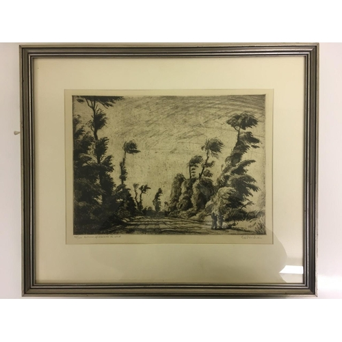 18 - A pair of limited edition, pencil prints. Signed by the artist, but not recognised. Dimensions(cm) H...