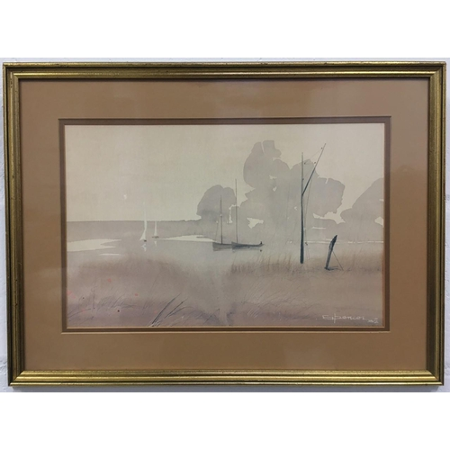 43 - A framed print by Jim Spencer - Summer Haven. Dimensions(cm) H43 W58