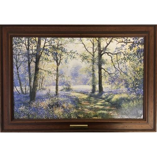 626 - An original, framed, oil on canvas entitled