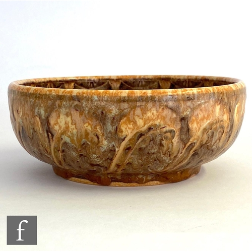 39 - William Salter Mycock - Pilkingtons Royal Lancastrian - A shape 207 bowl decorated to the interior w...