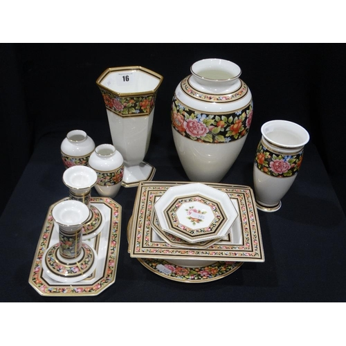 16 - A Quantity Of Wedgwood Cleo Pattern China (13)