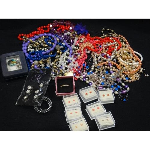 39 - A Box Of Costume Jewellery