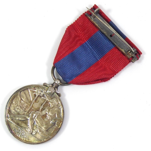 48 - AN IMPERIAL SERVICE MEDAL, GEORGE V Cased with extra ribbon, awarded to Helen Smith of the Post Offi...