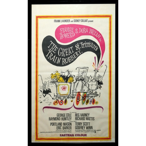 42 - 'THE GREAT ST. TRINIAN'S TRAIN ROBBERY', ORIGINAL CINEMA POSTER Published by Stafford & Co., London....