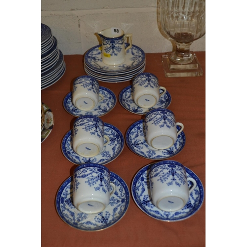 58 - POINTON'S BLUE AND WHITE