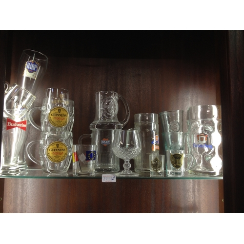 27 - Collection of glasses 17...