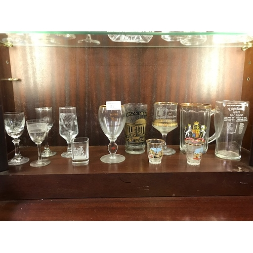 31 - Collection of special edition glass; Triple crown 1982, Queen Eliz 1953, Lady Diana July 1981Foynes ...