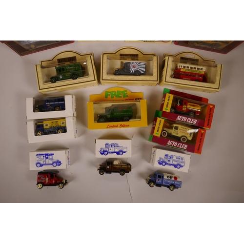 24 - A large quantity of 70s and 80s Lledo, Corgi, Matchbox etc toy cars, boxed...