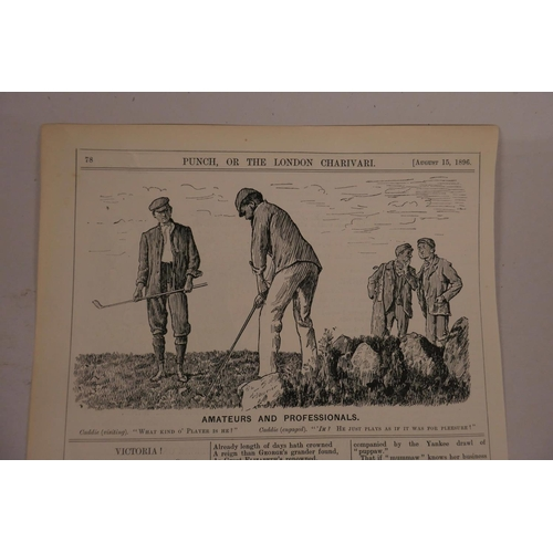 6 - Five hundred plus original Punch cartoons featuring golf, rugby, football, polo, tennis and cricket,...