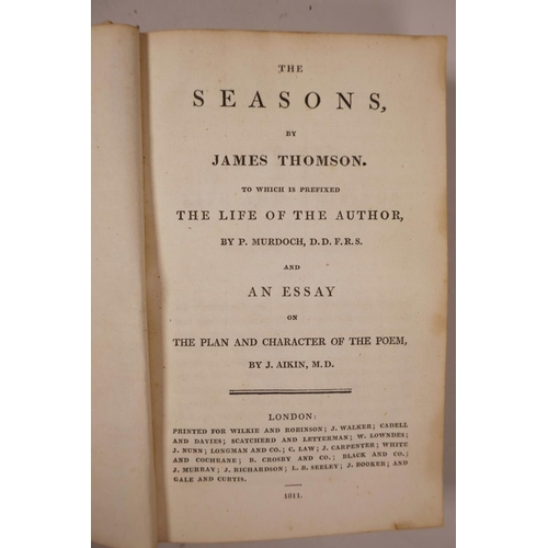 24 - Various early C19th books, Henry James Pye, poet laureate (1744-1813), Alfred, an Epic Poem', (Londo...