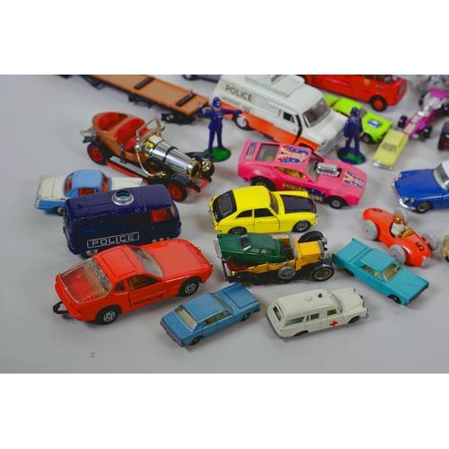 56 - A quantity of assorted Matchbox, Corgi cars etc...