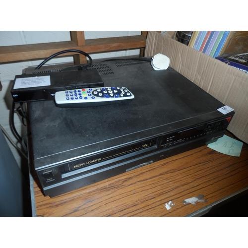 10 - Samsung VHS recorder in working order...