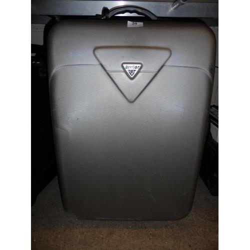 20 - Medium Antler hard case...