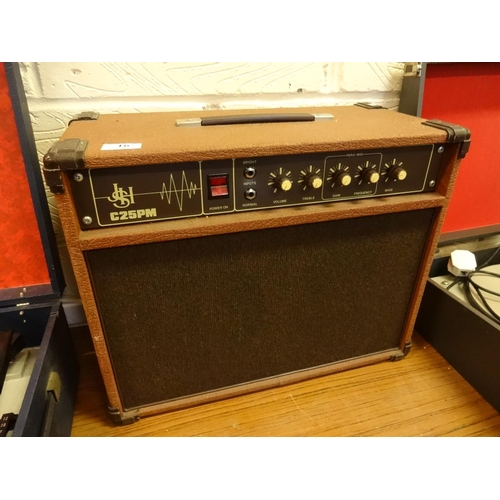 16 - Guitar amp JSH C25PM in working order...