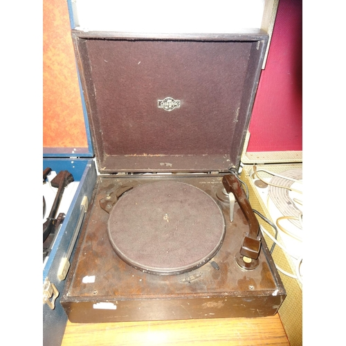 12 - Vintage/Antique Columbia 78RPM record player, not tested selling as spares or repair...