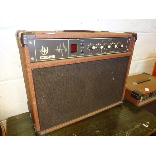 20 - Guitar amp JSH C25PM in working order...